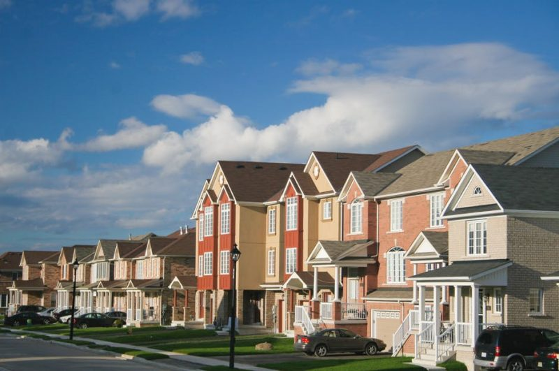 townhouses in a row